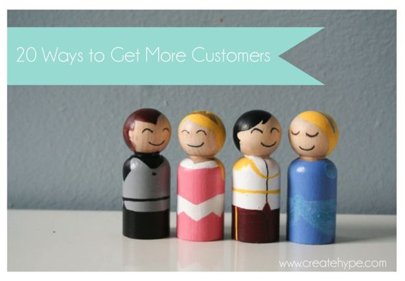 Get More Customers | Create Hype