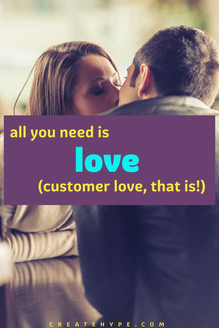 Showing your customers love is a great marketing strategy. Come up with a concrete plan to ensure that 'customer love' doesn't fall through the cracks.