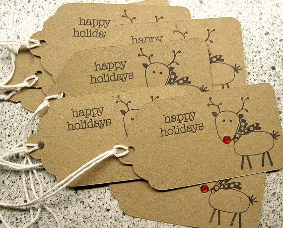 Last Minute Christmas Advertising | Create Hype | Image via Blue Violet Sentiments on Etsy!