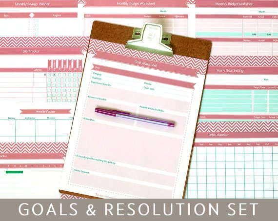 Business Goals and Resolutions | Create Hype {Image via Bizuza on Etsy}