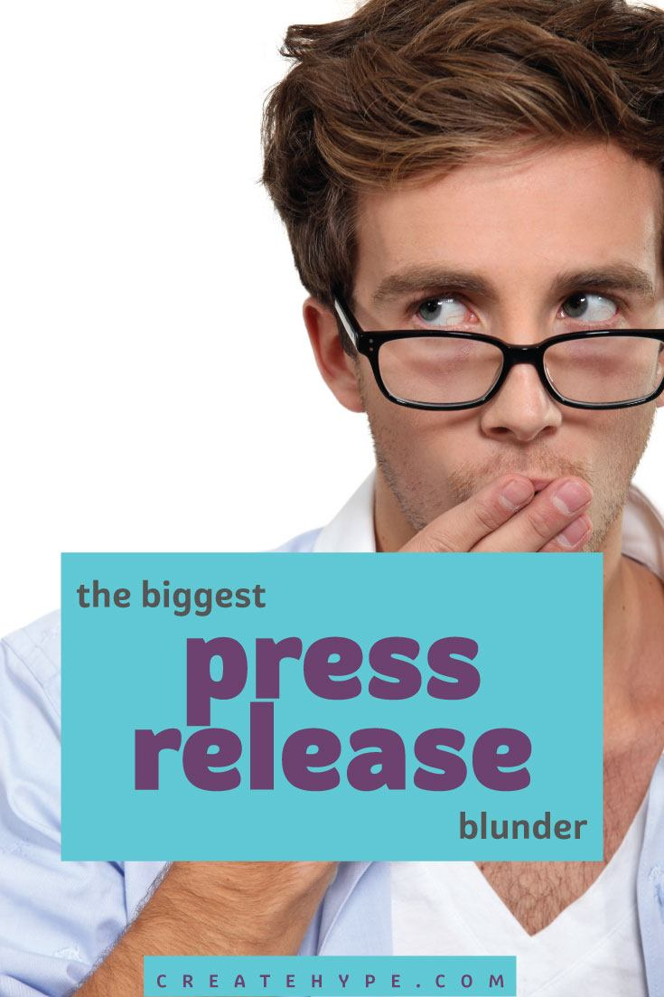 The press release is a great way to reach the media to gain publicity, but don't make the mistake of sending poorly constructed, self-serving releases.
