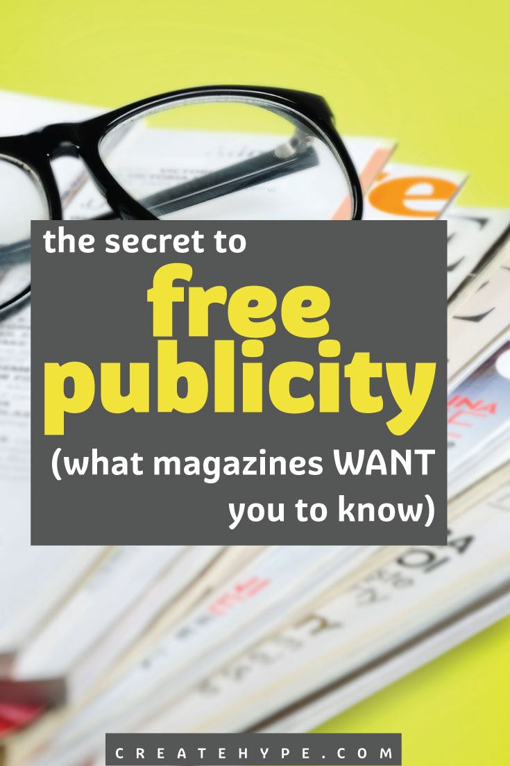 Want to know how to get free publicity from magazines? Here are five tips for finding out when and what to send to editors that WANT to hear from you.