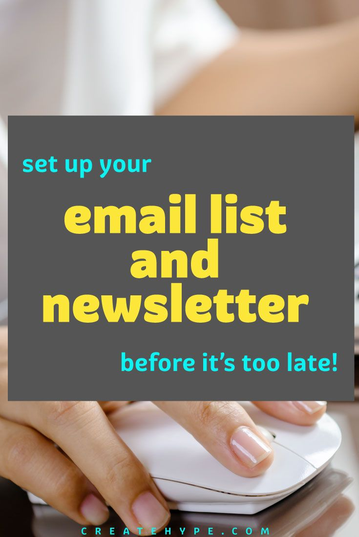 New bloggers often underestimate the value of an email list, however it is the most powerful marketing and revenue generating tool at your disposal.