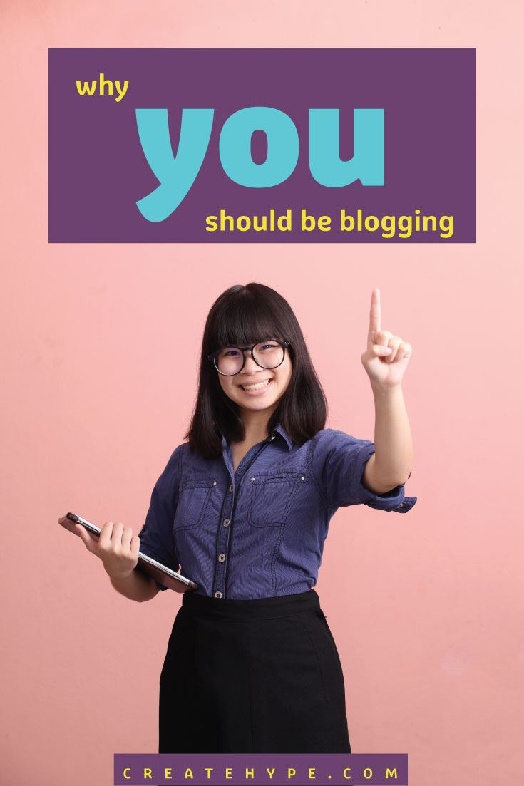 When entrepreneurs think about their goals, they realize that investing time and effort into blogging can get them there. Here's why you should be blogging.